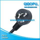 QIAOPU 16A插头,国标CCC认证插头 宁波电源线 余姚插头电源线