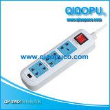 QP-3WD 乔普 国标拖线板