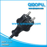 European non-rewirable waterproof plug