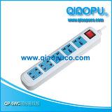 QP-5WC 国标拖线板 乔普品牌