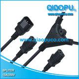 QIAOPU乔普带软线三通连接器