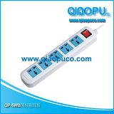 QP-5WB CCC 认证 国标拖线板