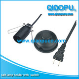 UL salt lamp power cord,America type salt lamp cord with switch