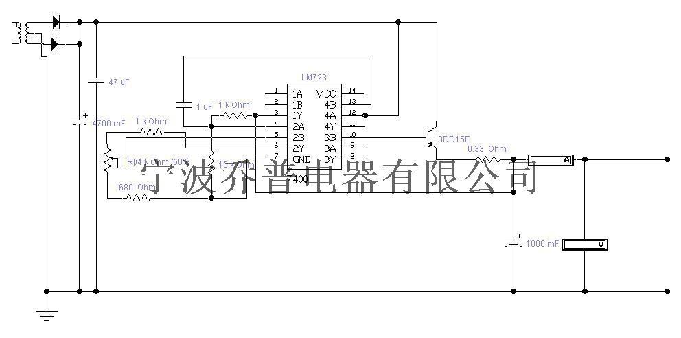 33欧的电阻有一定的短路保护作用,短 路电流为1.5a.