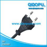 QIAOPU乔普厂家直销韩国KTL KC两芯电源线插头,Korea plug